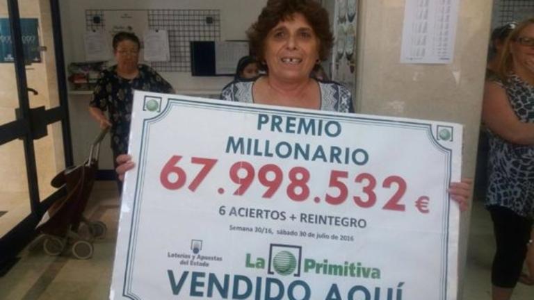 Българка спечели 68 млн. евро от лотарията в Испания