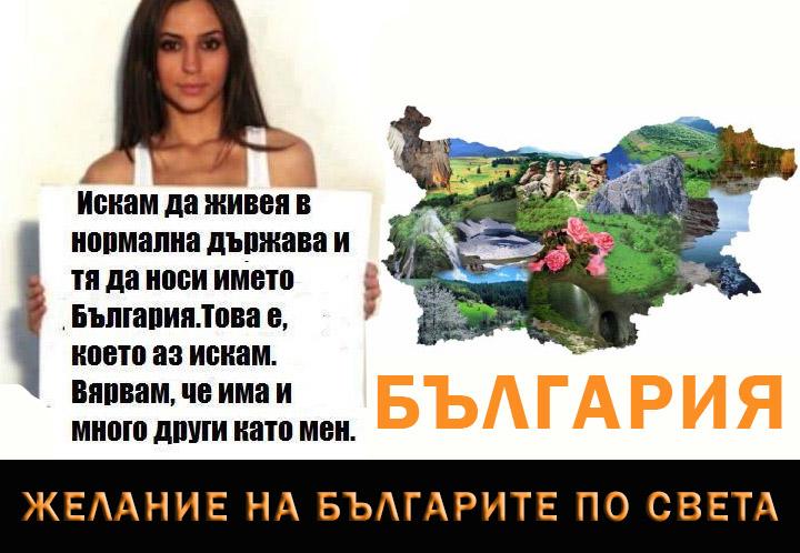 Желание на българите в чужбина